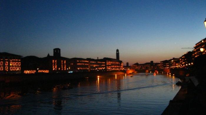 ...and Pisa at night